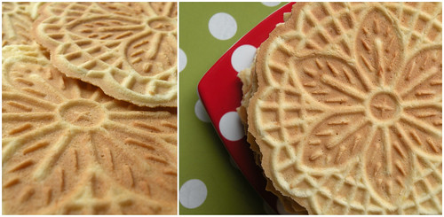 Mrs. Fields Secrets Almond Pizzelle Cokies