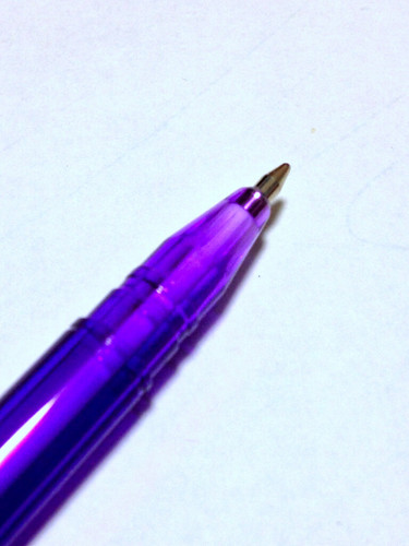 蛍光油性ペン。
