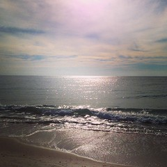 #Morning stop in Gulf Shores. #sunrise #beach #alabama