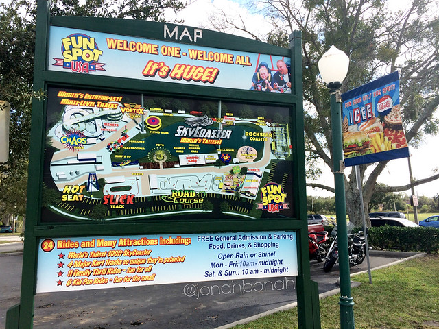 Map of Fun Spot America in Kissimmee, FL