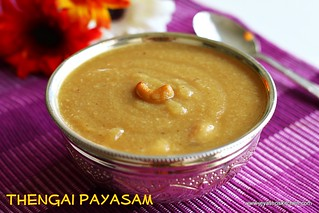 arisi-thengai payasam