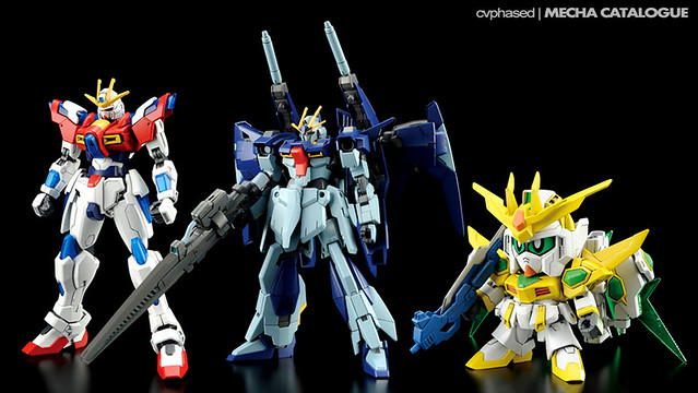Gundam Build Fighters Try - Mid-Season Upgrades