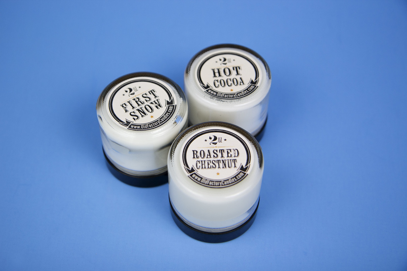 old factory candle set