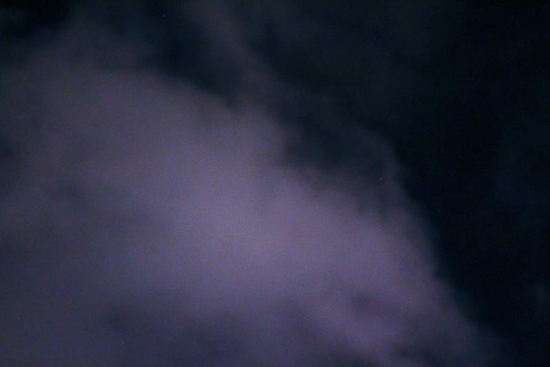 Skyen den natten