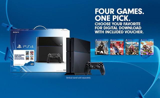New PS4 Bundle