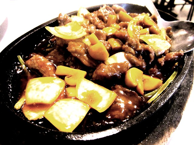 Nice House sizzling beef 2