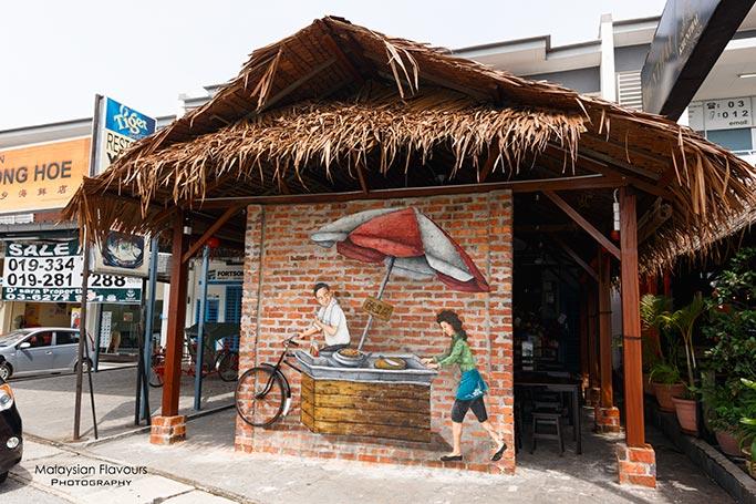 old-tricycle-charcoal-bbq-yong-tau-foo-desa-aman-puri-kepong