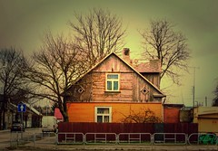 Old House in a Town