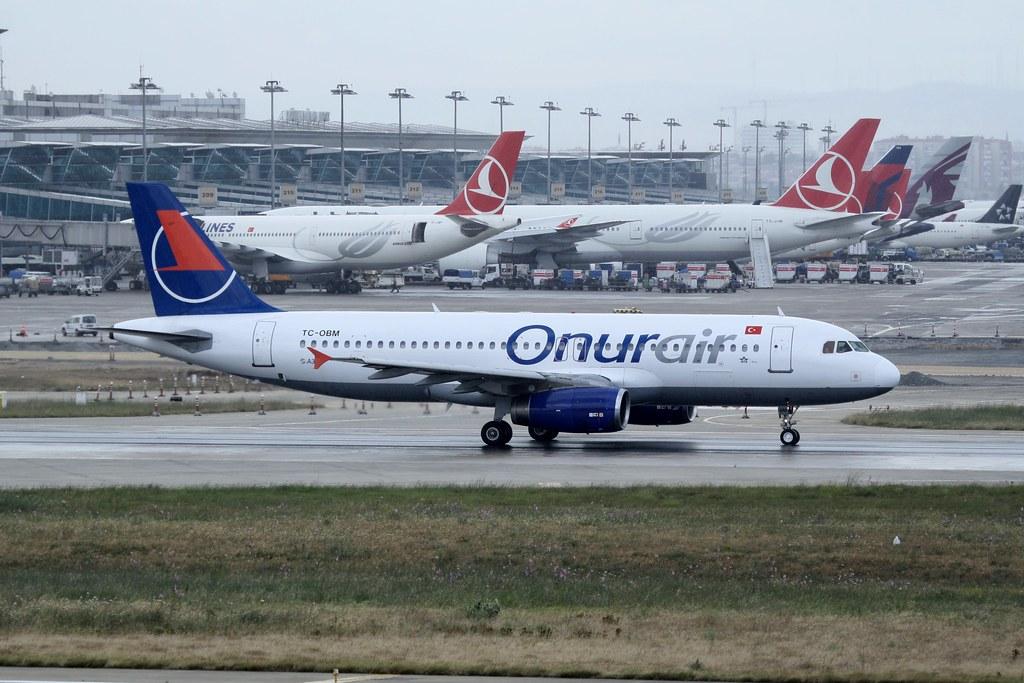 TC-OBM - A320 - Onur Air