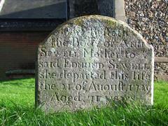 Ann Sewell, 1729
