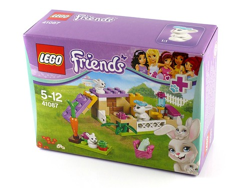 LEGO Friends 41087 Bunny and Babies 01