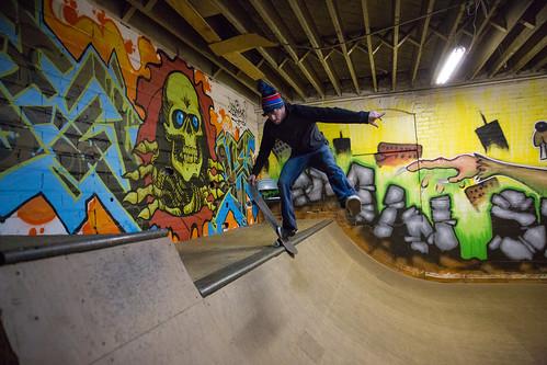 Enactus members help rebuild Kokomo skate park