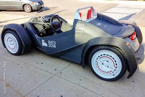 3D Printed Car 3D Printed Car from Local Motors at MakerCon