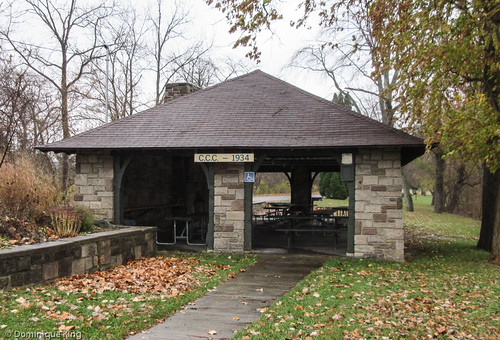 CCC picnic shelter, Independence Dam State Park, Defiance, Ohio