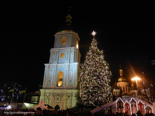 Киев, Главная елка