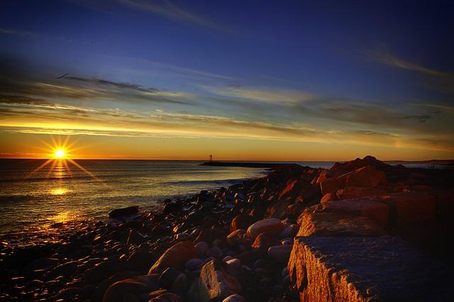 Searing Sunrise