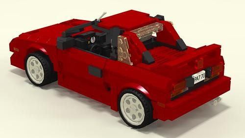 Toyota MR2 Mk1 left upper rear