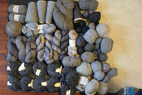 All the grey yarn 2015