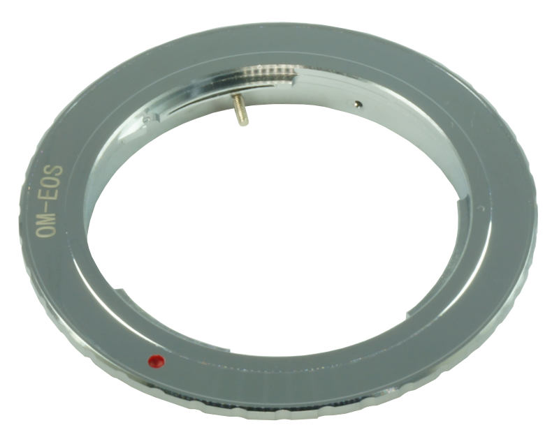 om-eos lens mount adapter olympus canon eos ef efs camera