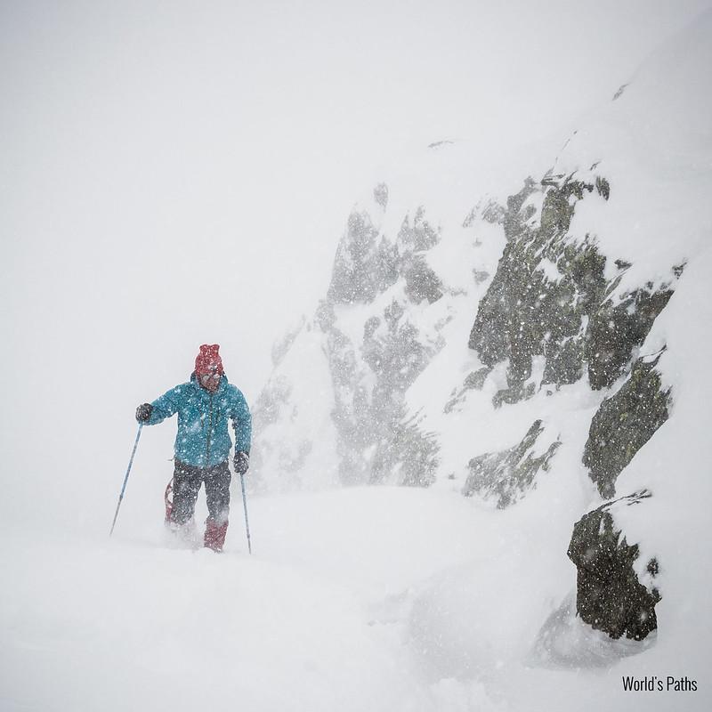 Trekking alps in avanscoperta