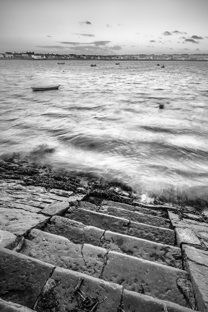 Stairs to the sea, Skerries, Ireland picture