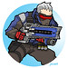 soldier76 by joelrcarroll