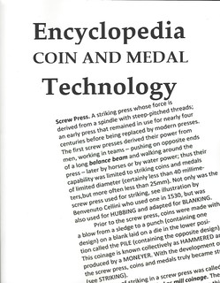 Encyclopedia Coin and Medal Technology
