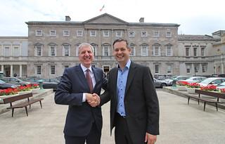 Máirtín Ó Muilleoir and Pearse Doherty