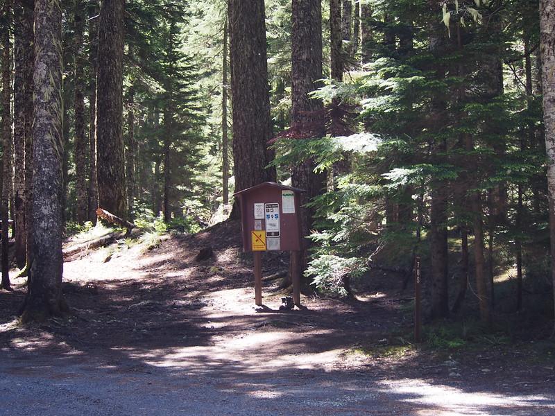 Pacific Crest Trail Trailhead