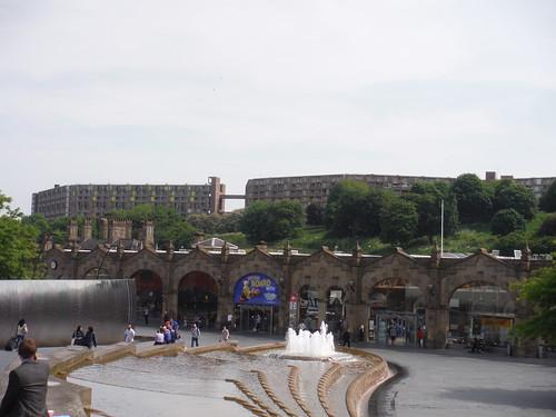 Sheaf Square, Midland Station and Park Hill Estate
