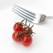 Fork and Tomatos