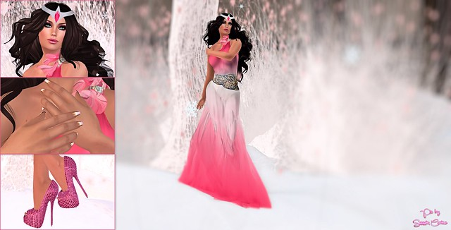 134 - Pink Goddess Gown Gift