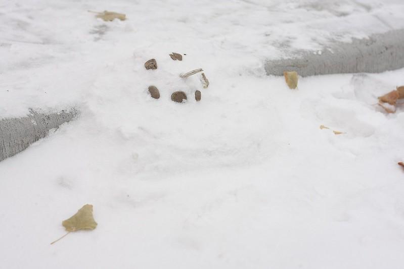 C's snowman
