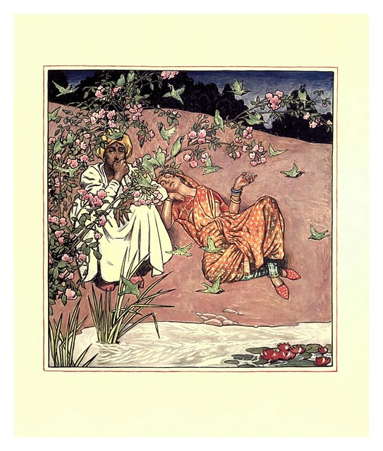 014- The garden of Kama…1914-ilustrado por Byam Shaw