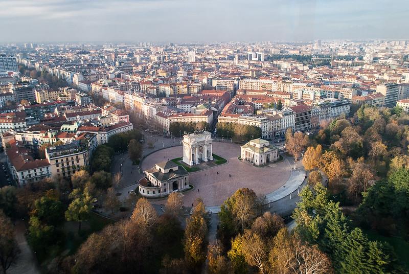 Milano da 108 metri di altezza
