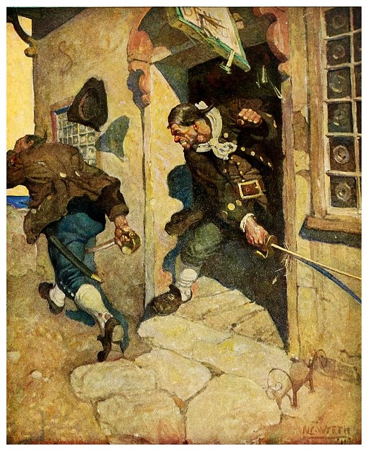 001-Treasure Island -1911-ilustrada por NC Wyeth