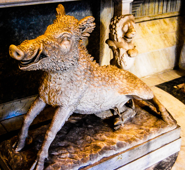 Wild Boar, from the Vatican Museums