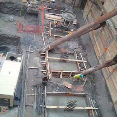 The first concrete pour at #Fabrik in downtown #Toronto today! #LifeStoreys