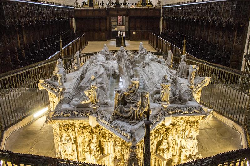 BURGOS - Cartuja de Miraflores - Sepulcro de Juan II de Castilla e Isabel de Portugal
