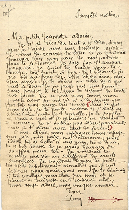14l26 Carta de León Bloy a su novia