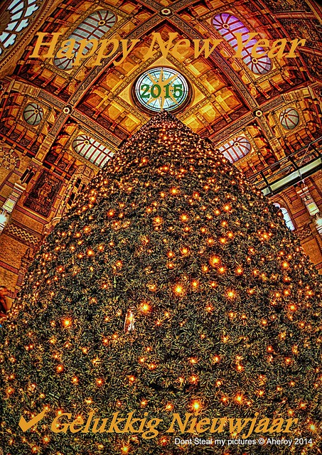 #FlickeringLights.Happy New Year,Groningen stad,the Netherlands,Europe