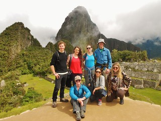 Intrepid Travel Group at Machu Picchu