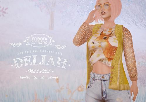 :Moon Amore: Deliah Shirt & Vest