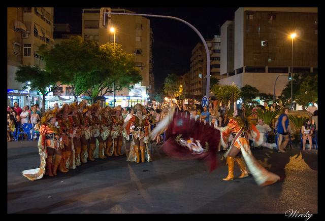 Desfile comparsa Corsarios de Altozano 2014