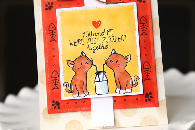 purrfect! {mama elephant stamp highlights}