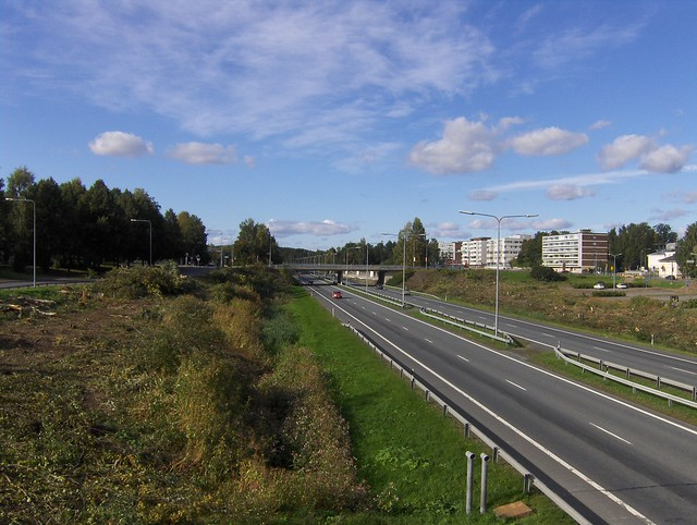 Hämeenlinnan moottoritiekate ja Goodman-kauppakeskus: Työmaatilanne 11.9.2011 - kuva 7