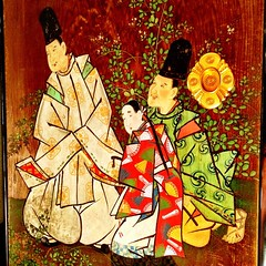 Beautifully painted panels, imperial villa, #nikko