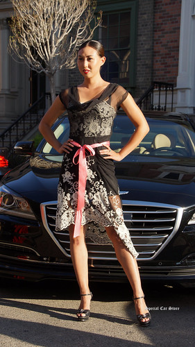 BMW 4 Series: Charmaine Joie Couture- fashions and models