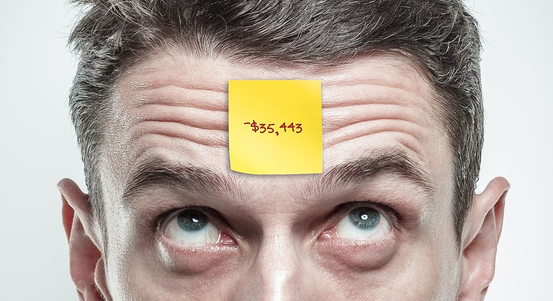 What if your net worth was pasted on your forehead for all to see?