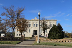 Ness City Kansas, County Courthouse, Ness County KS